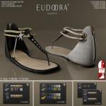 Eudora 3D Asteria Sandals (Slink Flats) Main BBG