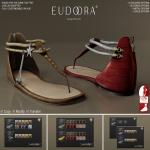 Eudora 3D Asteria Sandals (Slink Flats) Main BRS