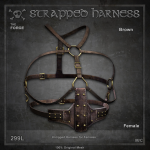 Forge Strapped Harness Brown