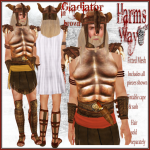 Harm's Way Gladiator in brown ad