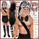 Harm's Way Hercules in black ad