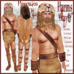 Harm's Way Hercules in tan ad