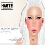 [Haste] Rhinestone Eyebrow Ad