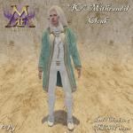 _IO_ Mithrandil Cloak -teal-