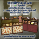 Kei's Bakery Display Case - BoxedPIC