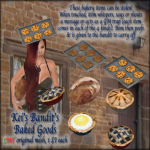 Kei's Bandit's Baked Goods - BoxedPIC