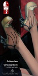 lassitude & ennui Gothique heels for Mystical Realms Fair