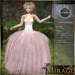 Mirage exclusive #1-MoonstoneGown-PrincessPink