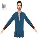 Orion - Arlen Tunic Blue
