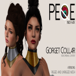 Peqe - Gorget Neck piece ad2