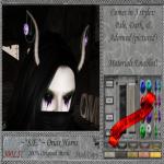 ~_S.E._~ Oriax Horns