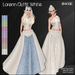 [ SAKIDE ] Lorenn Outfit White