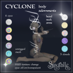 Spyralle Cyclone Body Adornments Full Set