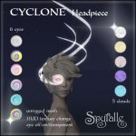 Spyralle Cyclone Headpiece