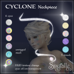 Spyralle Cyclone Neckpiece