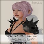[tea.s] Death Pauldrons AD {MRF}