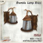 [V_W] AD Bramble Lamp Brass