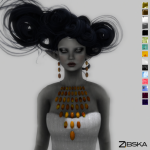 Zibska ~ Aoife Necklace & Earrings