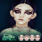 #adored - battle born facepaints ad