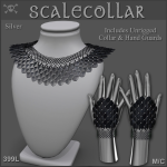 Forge Scale Collar Black