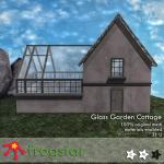 Frogstar - Glass Garden Cottage Poster