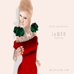 ieQED Holly Pauldrons AD
