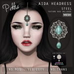PEKKA AIDA HEADRESS STEEL
