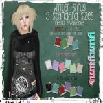 .{yumyums}. Winter Shrug Vendor
