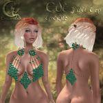 _LE_ Eve Jewel Top Emerald
