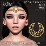 PEKKA MOON CIRCLET GOLD