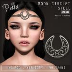 PEKKA MOON CIRCLET STEEL