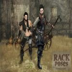 RACK Poses - Charge!