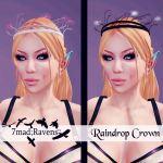 raindrop crown advert-7mad;Ravens
