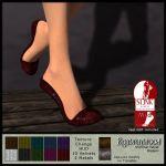 RW Shimmer Velvet Slippers - SLink Mid