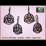 Bliensen Taranis Earrings Ad