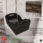 Frogstar  HandMeDown Vintage Baby Bed Poster