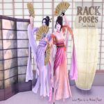RACK Poses  Geisha Dancers
