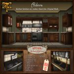 FDD VENDOR Kitchen Black