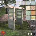 Frogstar Whimsy Garden Gate Poster