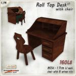 ADRoll Top Desk and Chair V1