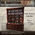 Ex Machina Louis Pasteur Pharmacy Cabinet 1