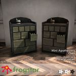 Frogstar Mini Apothecary Chest Poster