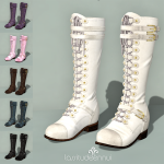lassitude & ennui Hellebore boots - preview square