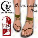 _LE_ Octavia sandals Olive