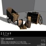 22769 ~[bauwerk] Carts - complete set [ad]
