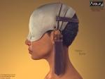 AZOURY - Yakov Helmet (Bone)
