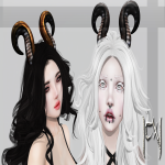 [CX] Chibi Aries Horns