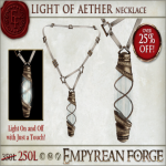 Empyrean forge_ Light of  Aether Necklace - Ad