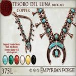 Empyrean Forge_ Tesoro del Luna Necklace Copper - Ad