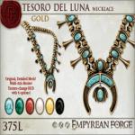 Empyrean Forge_ Tesoro del Luna Necklace Gold - Ad